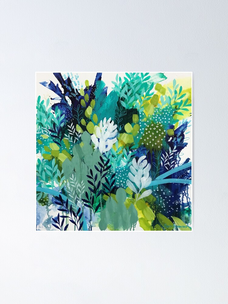 Alternate view of Abundant Foliage by Clair Bremner Poster