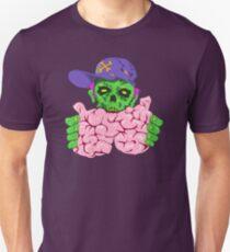 Crypto Zombie eating brainz! Unisex T-Shirt