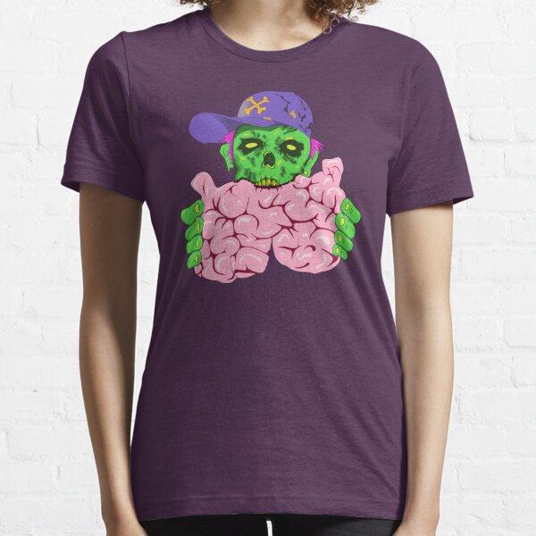 Crypto Zombie eating brainz! Essential T-Shirt