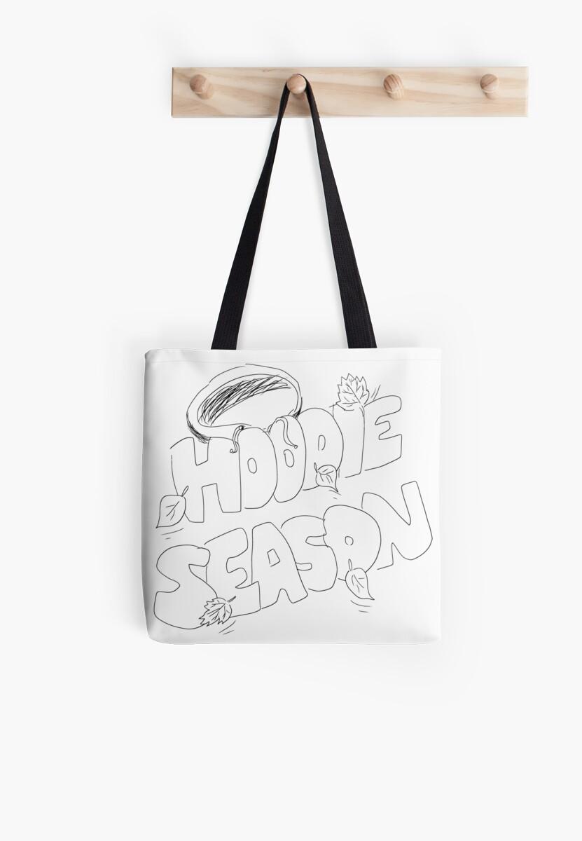 3Racha Hoodie Season Doodles by bellmakesart