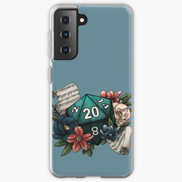 Bard Class D20 - Tabletop Gaming Dice Samsung Galaxy Soft Case