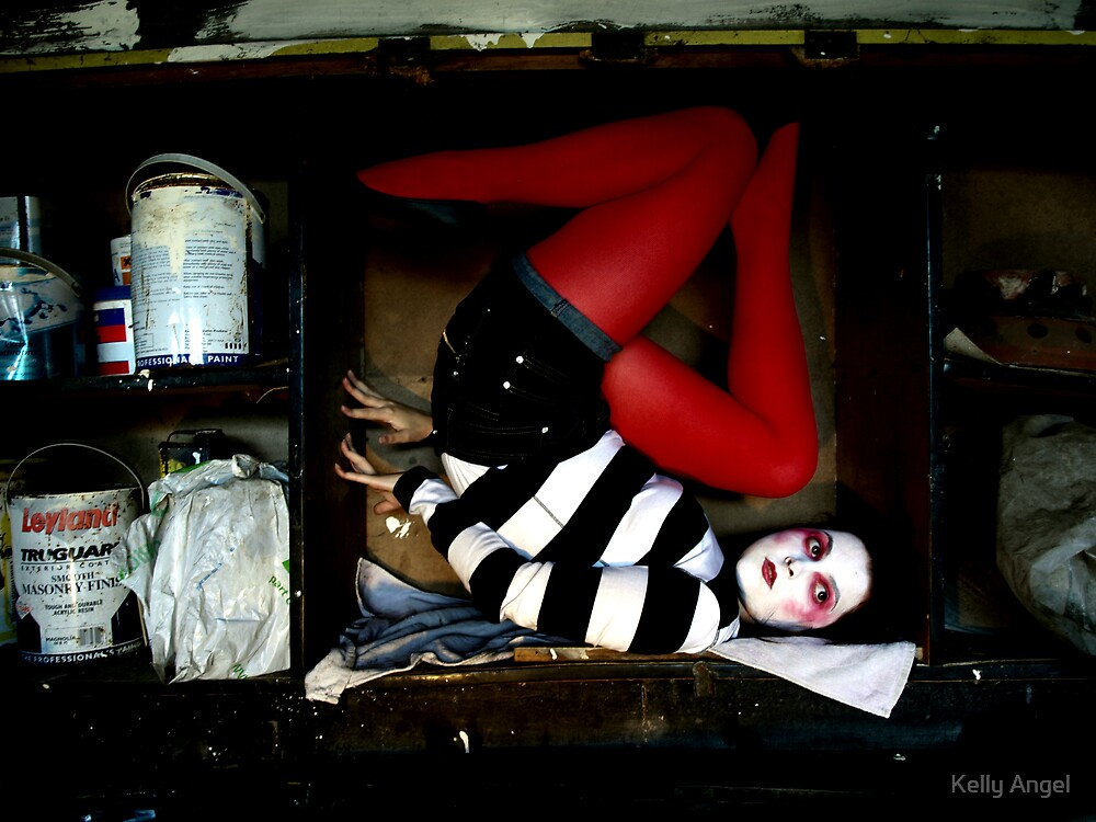 She lives in a box by Kelly Angel