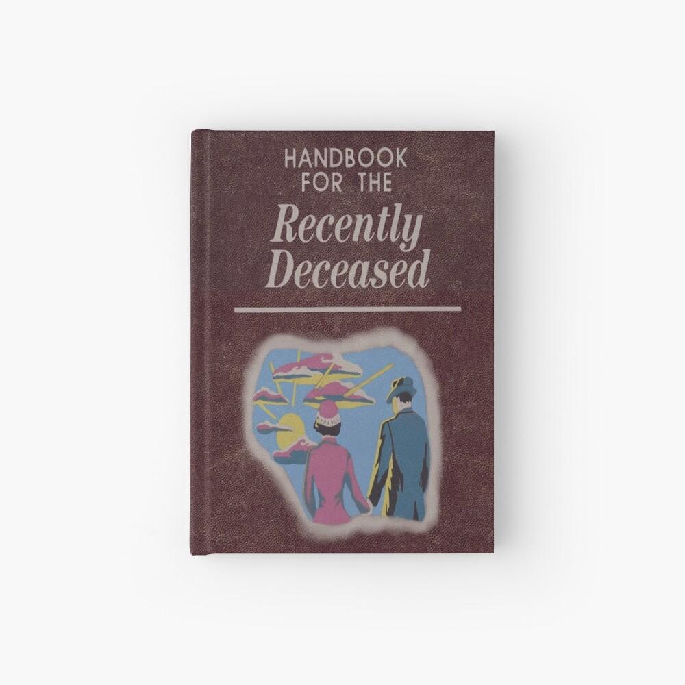 Beetlejuice Handbook For The Recently Deceased  Hardcover Journal