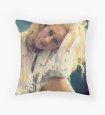 Painted Soul Throw Pillow