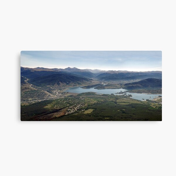 Lake Dillon Panorama Canvas Print