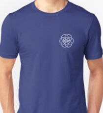 Earth Flag - Crest / Breast Patch Unisex T-Shirt