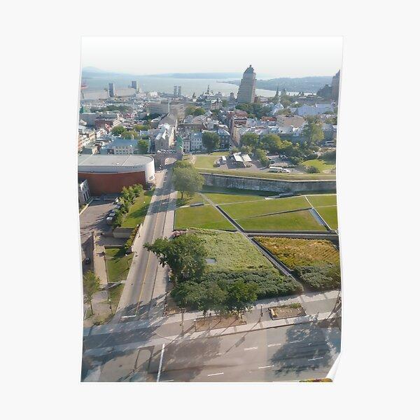 Montreal, #Montreal, Quebec City, #QuebecCity, #Quebec, #City, #Canada, #buildings, #streets, #places, #views, #nature, #people, #tourists, #pedestrians, #architecture, #flowers, #monuments Poster