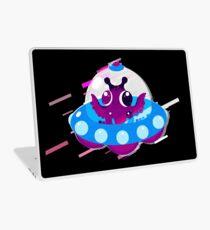 Ufo saucer Eighties Retro Violet and Purple Laptop Skin