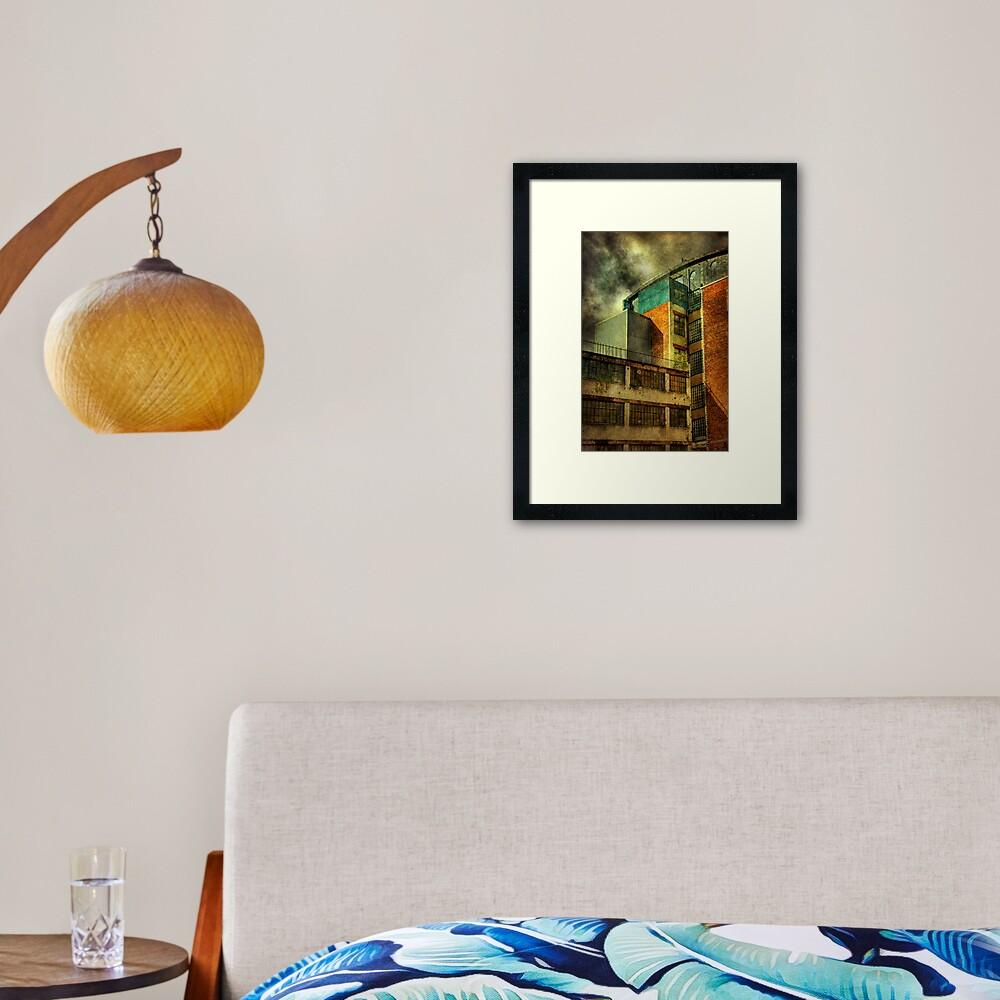 Merchant City (3) Framed Art Print