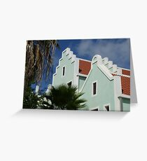 plaza bonaire Greeting Card