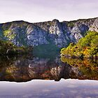 Crater Lake - Cradle Mountain NP by Lexa Harpell