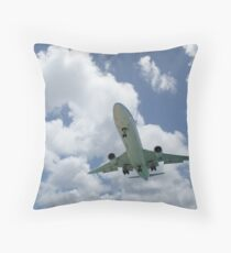 klm marie curie Throw Pillow