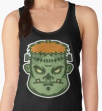 Zombie Frankenstein Vector Art Women's Tank Top