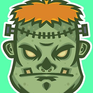 Zombie Frankenstein Vector Art by giftmones