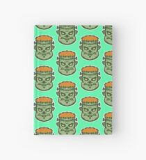 Zombie Frankenstein Vector Art Hardcover Journal