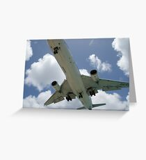 klm marie curie closer Greeting Card