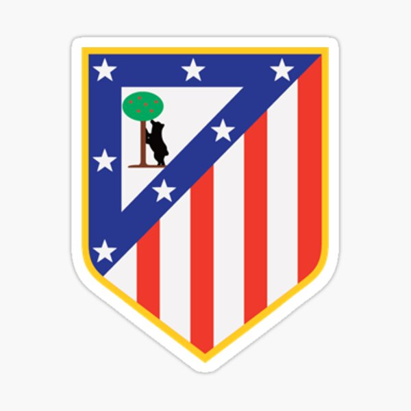 Atlético de Madrid Pegatina