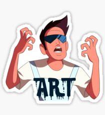 Buck Dewey the Artist Sticker