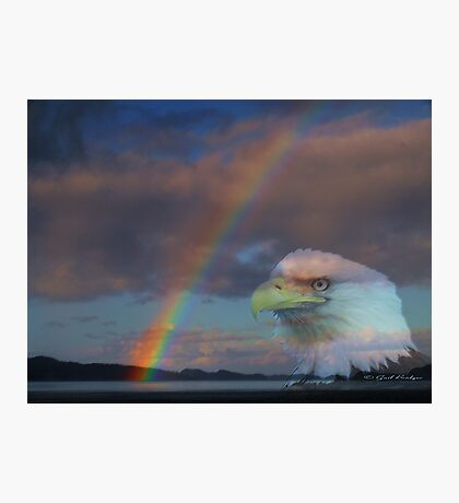 My Pot Of Gold At The End Of The Rainbow Photographic Print