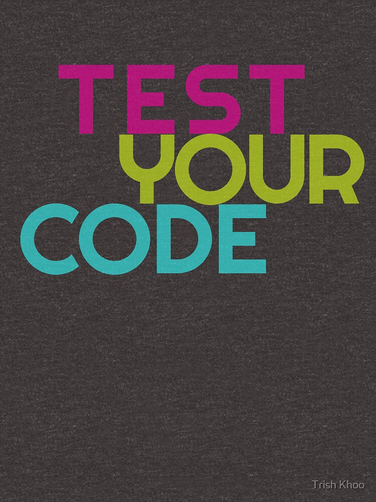 Test your code by hogfish