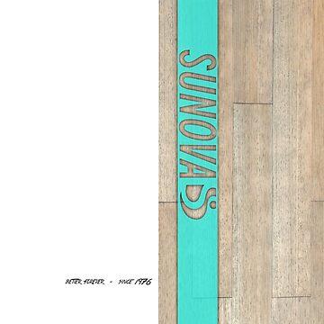 Sunova SUPware Teal by Frazza001