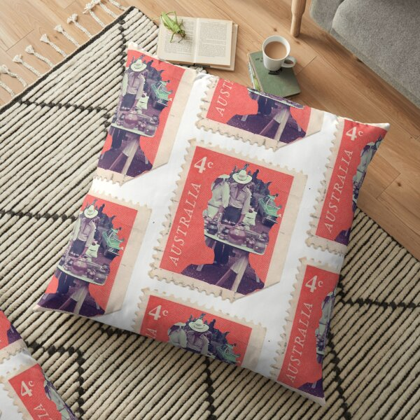 The Memory Post - Family Stamp #64 Floor Pillow