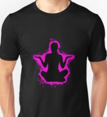 Silhouette young pink and black silhouette Unisex T-Shirt