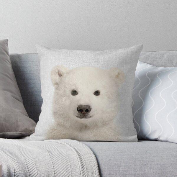 Eisbär - bunt Dekokissen