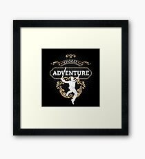 Choose Adventure Framed Print
