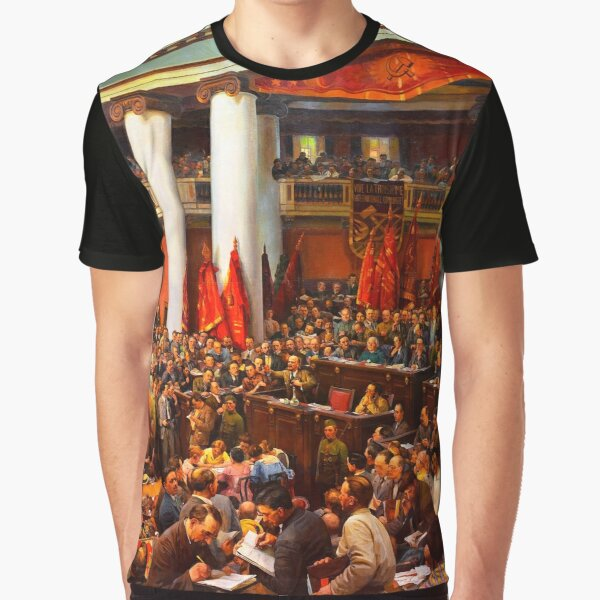 Second Congress of the Comintern Graphic T-Shirt