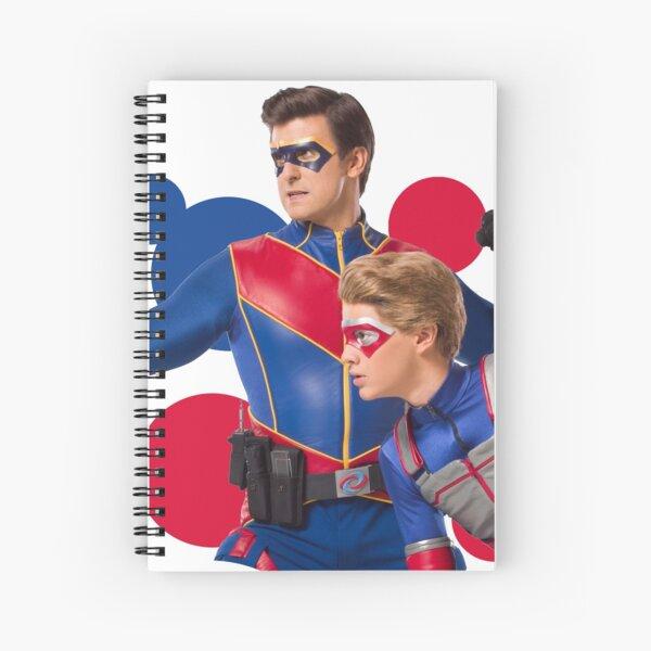 Bubbles Captain Man y Kid Danger Cuaderno de espiral