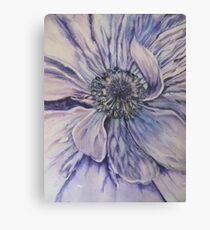 'Deep Purple'  Canvas Print