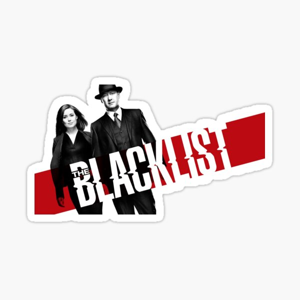 The Blacklist Sticker