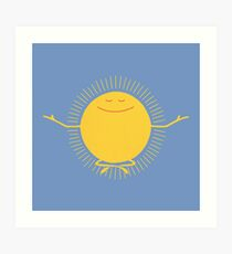 Sun Worshipper Art Print