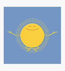 Sun Worshipper Photographic Print