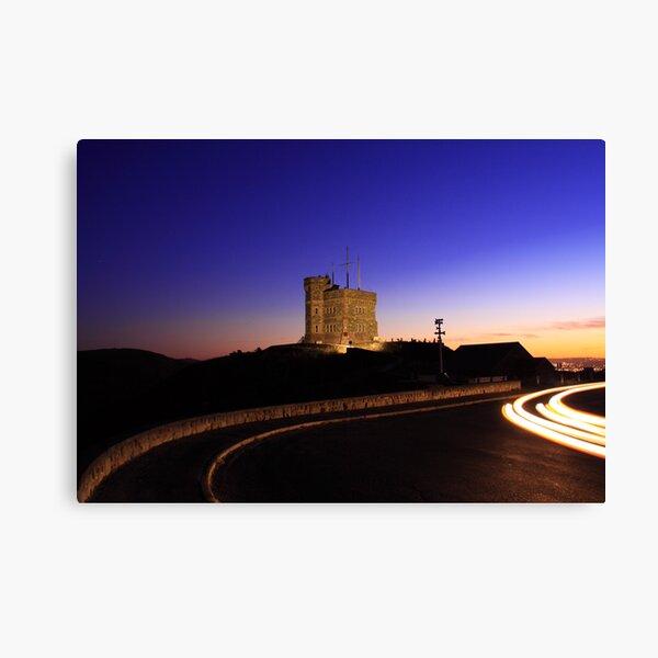Cabot Tower Sunset Canvas Print