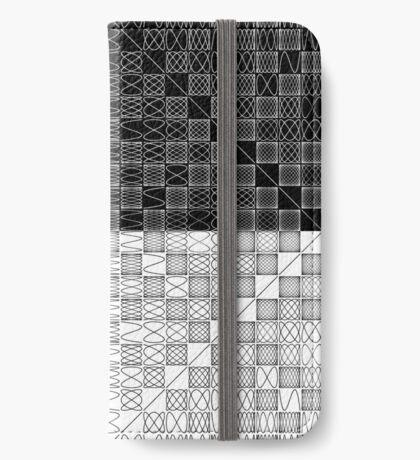 Lissajous VI iPhone Wallet