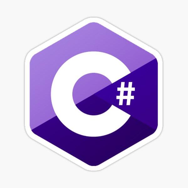 C # Logo Sticker