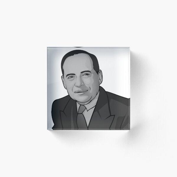 Benjamin Graham Bloque acrílico