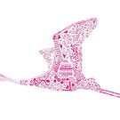 Fuchsia Flamingo by Kanika Mathur  Design