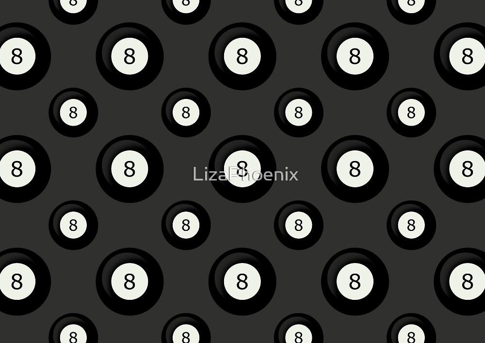 8 Ball by LizaPhoenix