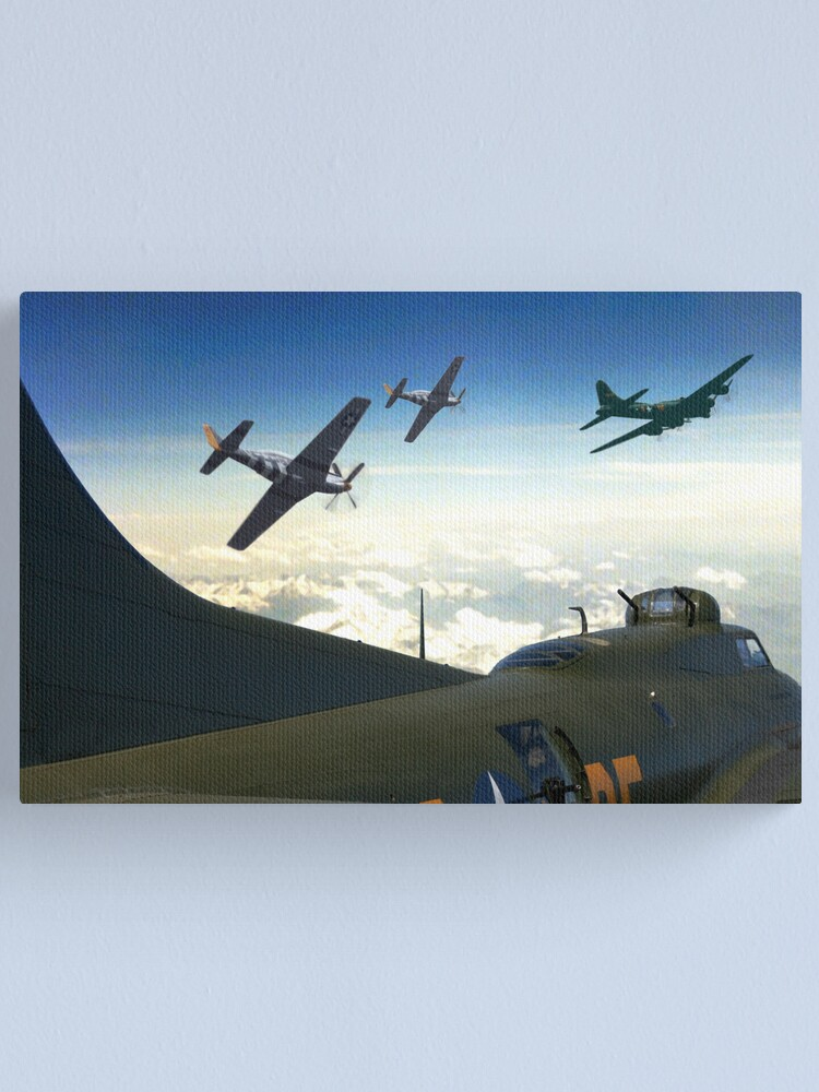 Alternate view of The Final Mission Canvas Print
