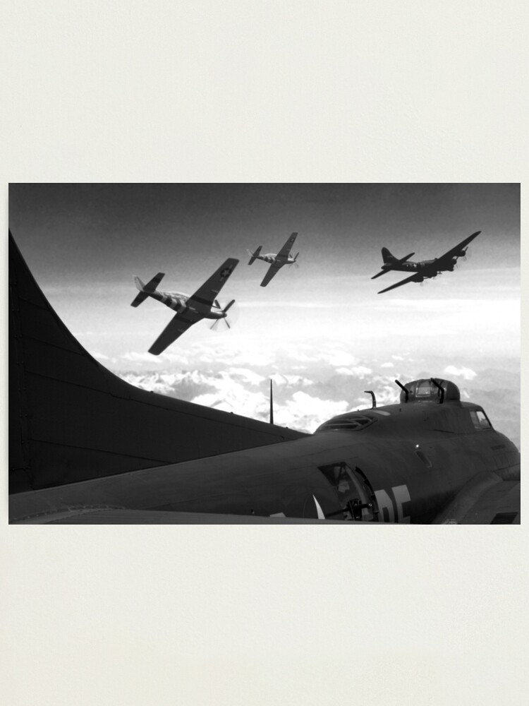 Alternate view of The Final Mission (Monochrome Version) Photographic Print