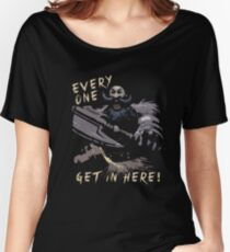 Everyone, Get In Here!  Women's Relaxed Fit T-Shirt