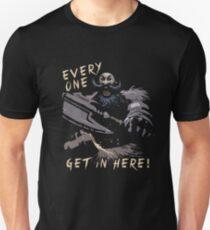 Jeder, komm rein! Slim Fit T-Shirt