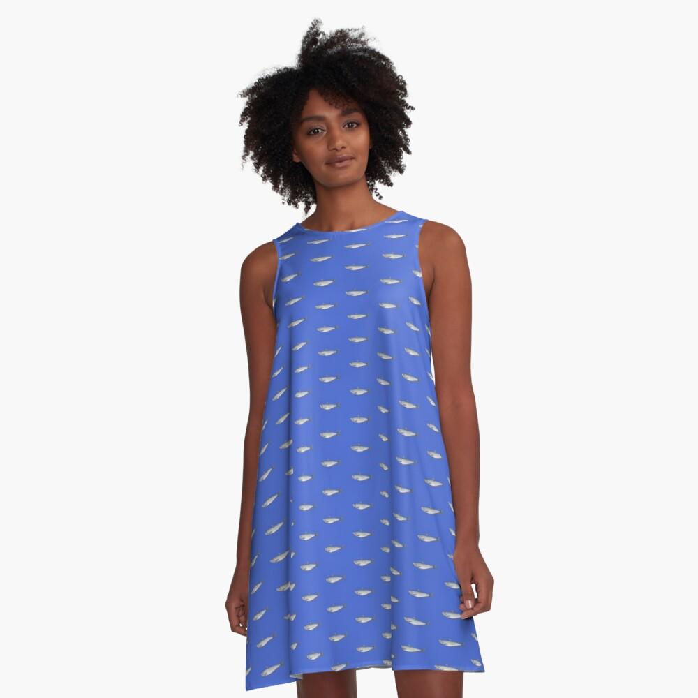 Sardine: Fish of Portugal A-Line Dress