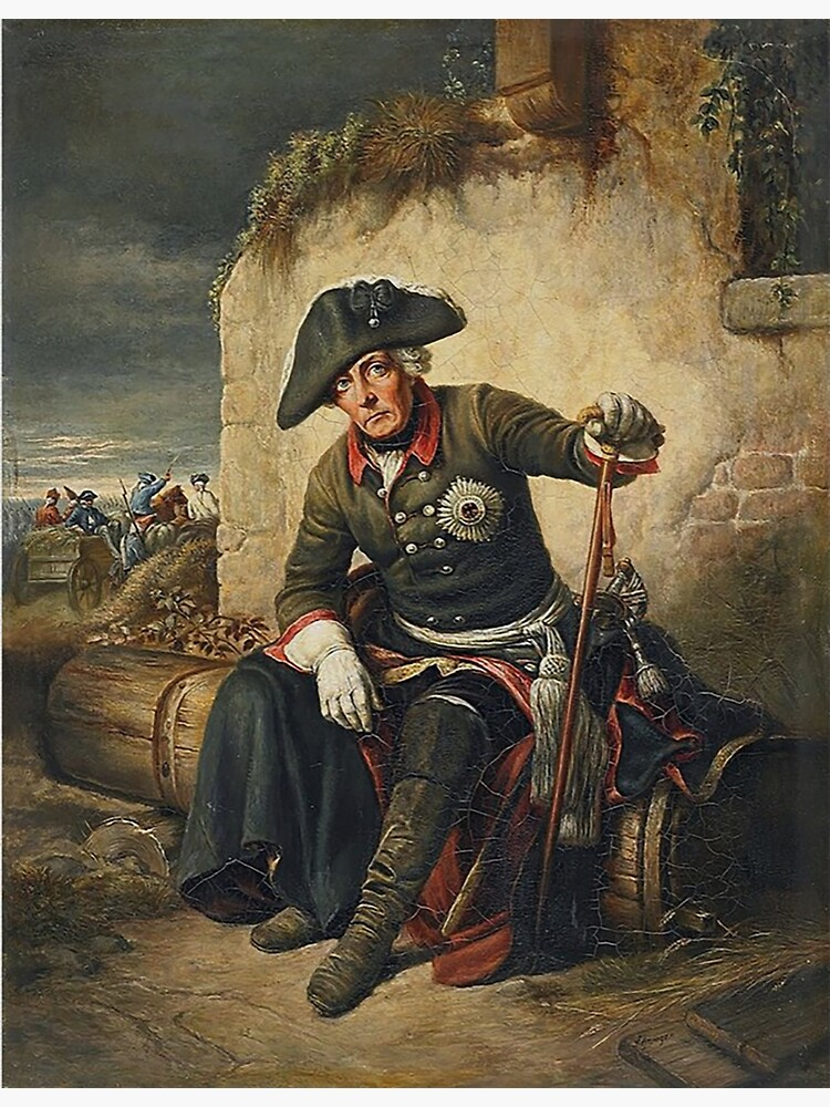 Frederick the Great...Battle of Kolin, 1757 by edsimoneit