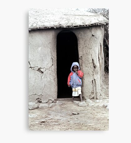 Masai Child Canvas Print