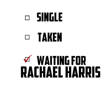 Waiting For Rachael Harris by NessaElanesse