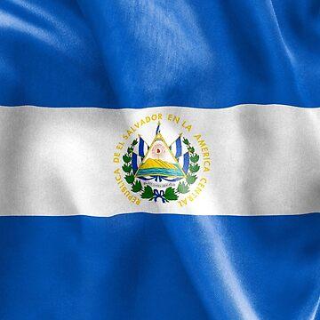 El Salvador Flag by MarkUK97